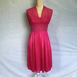 My Michelle dark pink cocktail dress